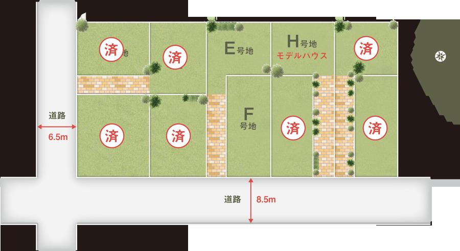 区画図/プラン 滋賀エリアの注...